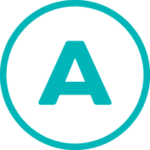 Icon of the letter A