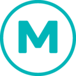 Icon of the letter M